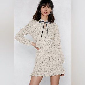 NWT Nasty Gal Don't Bow Breaking My Heart Dress